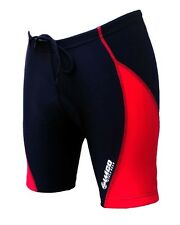 ZIMCO Women's Cycling Biking Cycle Short Bike Shorts Padded Black/Red ZM184
