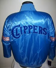 SAN DIEGO CLIPPERS Starter REVERSIBLE Satin Jacket M L XL 2X BLUE & RED