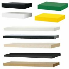 Ikea Lack Floating Wall Shelf Display Concealed Mounting Various Sizes & Colours