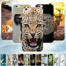 Lovely Funny Animals Pattern Hard Phone Case Cover Skins For iPhone SE 6 Plus