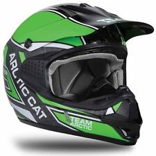 Arctic Cat Sno Cross Sno Pro MX Helmet - Green - Snowmobile ATV UTV - 5252-39_