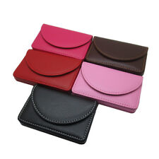 New Pocket PU Leather Business ID Credit Card Holder Case Wallet LAUS