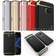 For Samsung Galaxy S7 Edge Screen Protector + Shockproof Hybrid Hard Case Cover