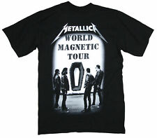 Metallica Band Photo Image Death Magnetic Coffin Black T Shirt New Official Tour