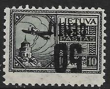 Lithuania stamps 1922 MI 185 INVERTED overprint  MLH  VF