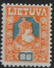 Lithuania stamps 1921 MI 94F  MLH  VF