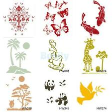 Wall Painting Stencil Plastic Mural Home Improvement Craft Decoration