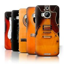 STUFF4 Back Case/Cover/Skin for HTC One M9+/Plus/Guitar