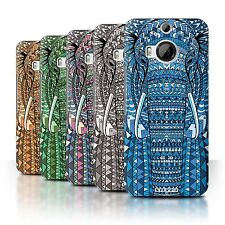 STUFF4 Back Case/Cover/Skin for HTC One M9+/Plus/Aztec Animal Design