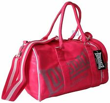 Lonsdale Pink Sports Bag Holdall Gym, School, Travel, Weekends Away FREE SHIPPNG
