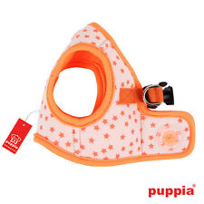 Dog Puppy Harness Soft Vest- Puppia - Cosmic - Orange - Choose Size