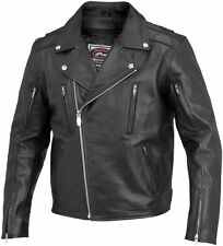 River Road Mens Ironclad Leather Jacket 2014