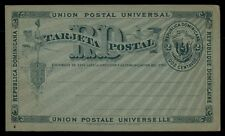 Dominica 2 centavos rate classic postal stationery card