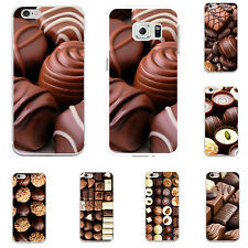 CHOCOLATE 3D PHONE CASE COVER FOR IPHONE 5 6 6S 7 PLUS SAMSUNG GALAXY VERSATILE