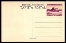 9 cent  Dominica classic postal stationery card postcard