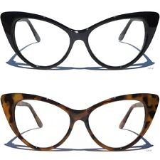 Sexy Cat Eye Frame Clear Lens Glasses Women Retro Eyeglasses Vintage Style New