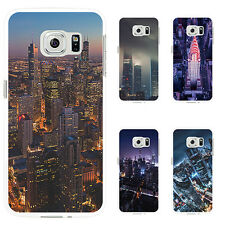 3D CITY NIGHT SCENERY CASE COVER FOR IPHONE 6 7 PLUS SAMSUNG GALAXY S7 VERSATILE