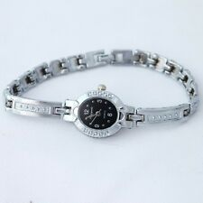 Brand Casual Silver Fashion Women Ladies Watch Gift Dress Quartz Wristwatch O106