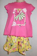 Fairy ruffle shorts set girls 12 18 24 months Flap Happy NWT