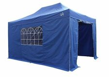 3x4.5m Heavy Duty Fully Waterproof Pop Up Gazebo + 4 Superior Side Walls