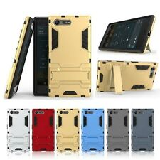 For Sony Xperia X Compact Shockproof Armor Impact Heavy Duty Rugged Hybrid Case