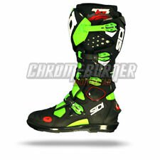 SIDI Crossfire 2 SRS 2016 Green Fluo Black, Motocross Boots, NEW