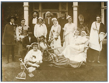 UK, Cambridge, Wordsworth Grove Red Cross Hospital - fancy dress competition  Vi
