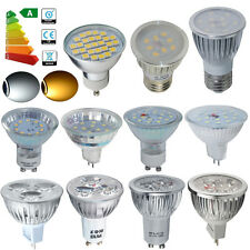 3W/4W/5W/6W/8W GU10 MR16 E27 LED SMD Bulbs Spotlight D/W White Lamp Spot Light