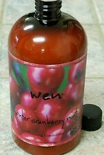 """NEW Wen """"Winter Cranberry Mint"""" Cleansing Conditioner 16 oz. by Chaz Dean SEALED"""