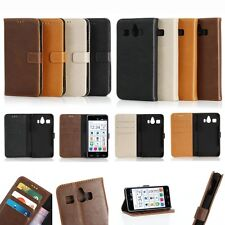 Wallet Leather Card Slot Holder Flip Folio Magnet Case Pouch For SHARP Phone NEW