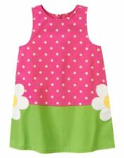 """NWT GYMBOREE GIRLS """"SHOWERS OF FLOWERS"""" COLLECTION PINK/GREEN DRESS SIZE 6"""