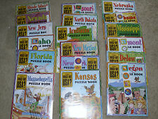 WHICH WAY USA? Highlights Puzzle Books Magazines LOT OF 36 Homeschool NEW
