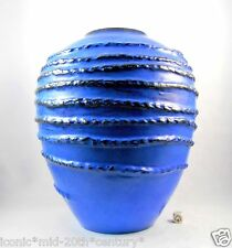 Carstens Fat Lava Era Vase West German Pottery Mid Century Modern Pop Art XL