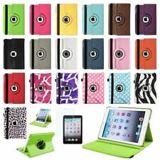 Rotating Magnetic PU Leather Case Smart Cover Stand For Apple iPad Mini 1 2 3