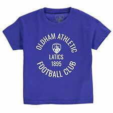Team Kids Oldham T Shirt Infant Boys Cotton Print Short Sleeve Crew Neck Tee