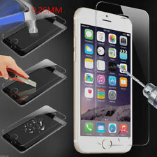 9H Slim Genuine Tempered Glass Front & Back Screen Protector For iPhone Android