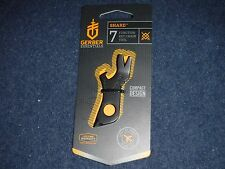 Gerber Shard Essentials 7 Function Key Chain Tool New in Package
