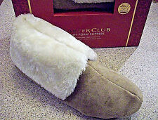 CLOSEOUT NEW Macys Charter Club Ladies XL 11-12 Memory Foam Slippers In/Outdoor