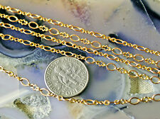 3ft Fine Solid Red Brass Link Chain handmade jewelry making findings chains c13