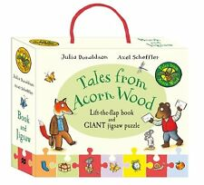 Tales from Acorn Wood Book and Jigsaw Gift Set New Board book  Julia Donaldson,