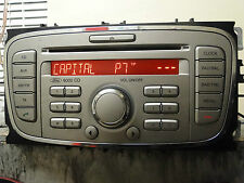 FORD FOCUS 2008 REG.FACE LIFT/ CD RADIO PLAYER MP3 AUX WITH CODE WARRANTY