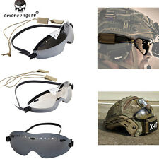 Emerson Boogie Regulator Tatical Air Soft Goggles Skydiving Fog Wind Prevention