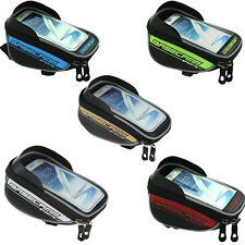 "5.5"" Bicycle Bike Mobile Phone Holder iPhone Frame Pouch Bag Case Carrier Cycle"