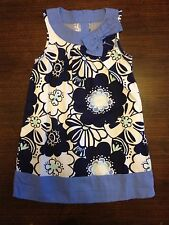 NWT/NWOT Gymboree Outlet Exclusive Blue Floral Dress Girls Size 4