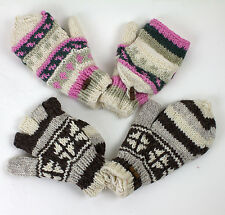 Wool Gloves Mittens made from pure wool Folding gloves Gloves padded