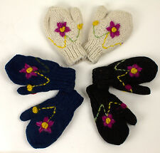 Gloves Wool gloves Mittens made from pure wool Children mittens