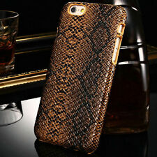Slim Snake Skin Pattern Hard Plastic Fitted Back Case Cover For iPhone 6 6S Plus