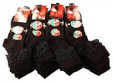6 Pairs of Kids Girls Lace Socks, Frilly Chic Black Ankle School Socks