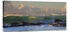 Global Gallery 'The Wave' by Mel Brackstone Photographic Print on Wrapped Canvas