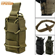 MOLLE Tactical Military Open Single Pistol Mag Pouch Bag For Hunting Belt Vest